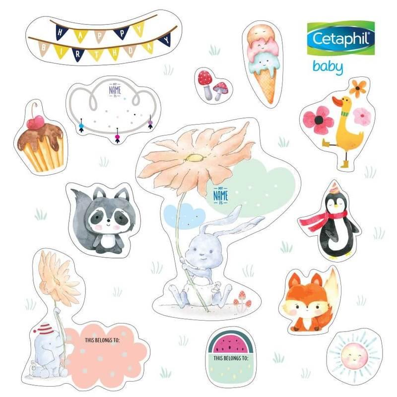 Cetaphil Sticker Free Gift