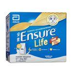 Ensure Life Less Sweet Vanilla Nutrition Powder, 4 x 400g (1.6kg)