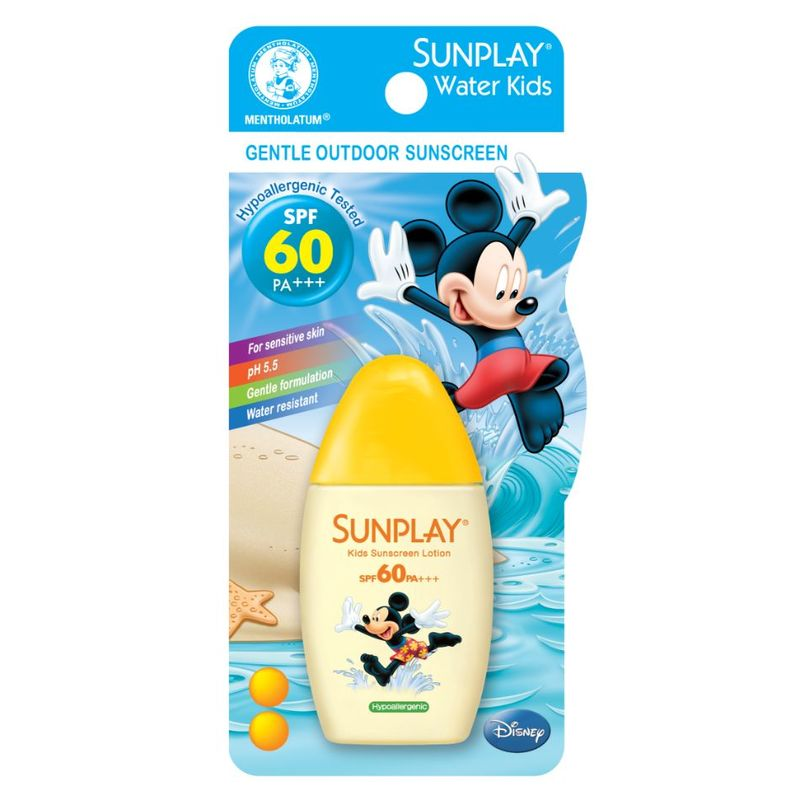 Sunplay Water Kids Disney Outdoor Sunscreen Lotion SPF60 PA+++ 35g