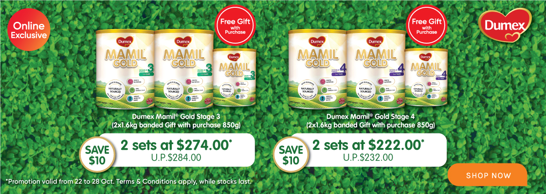 Dumex Promo Pack - 22 to 28 Oct