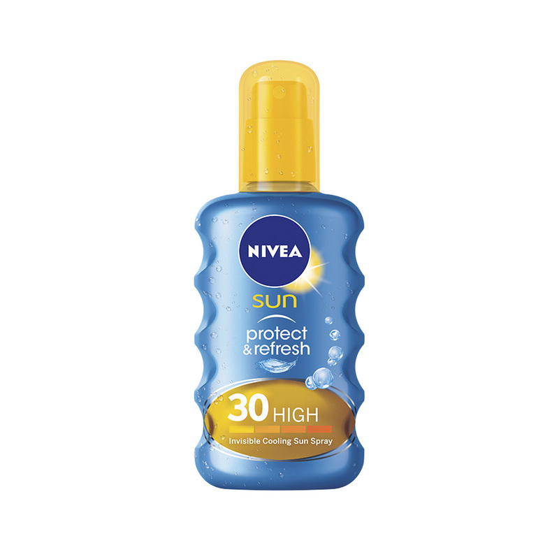 Nivea Sun Protect & Refresh Invisible Cooling Sun Spray SPF 30, 200ml