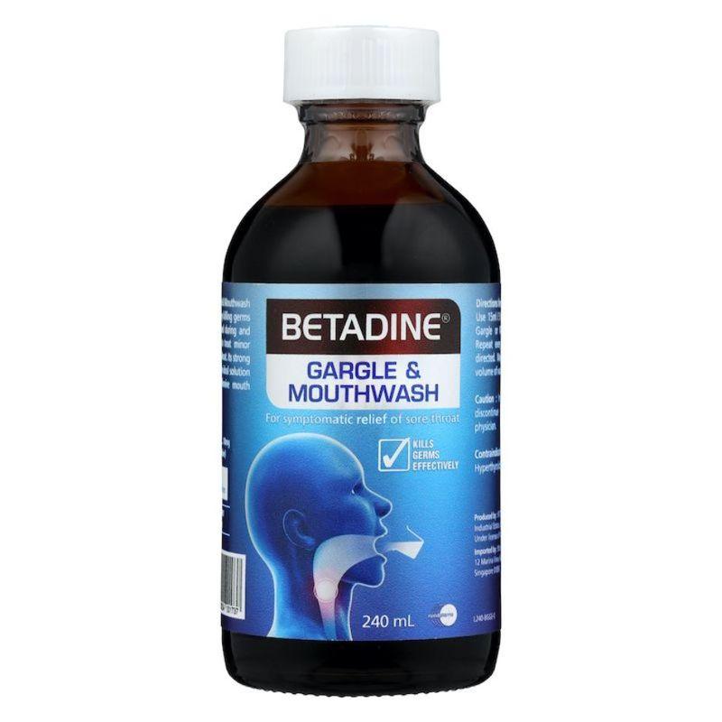 Betadine  Gargle & Mouthwash 240ml