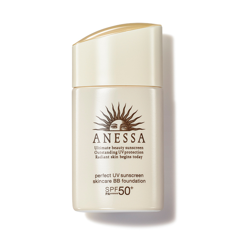 Anessa Perfect UV Sunscreen Skincare BB Foundation SPF50+ PA++++(C1-Natural)25mL