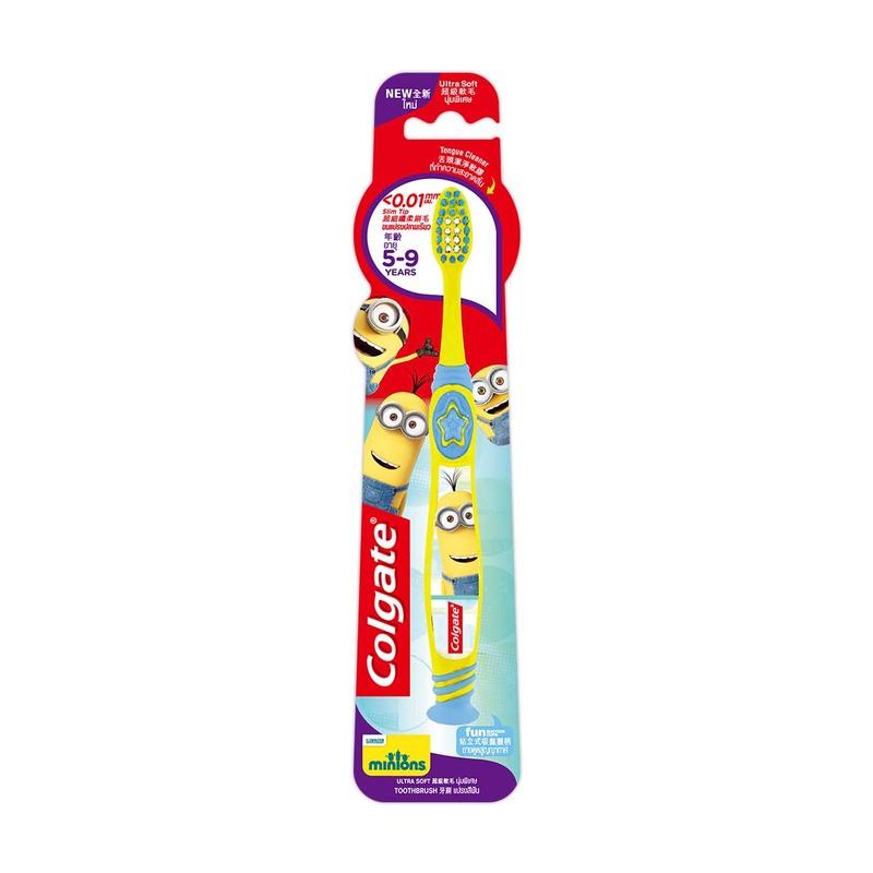 Colgate Minions Toothbrush for 5-9yo Kids 1pcs
