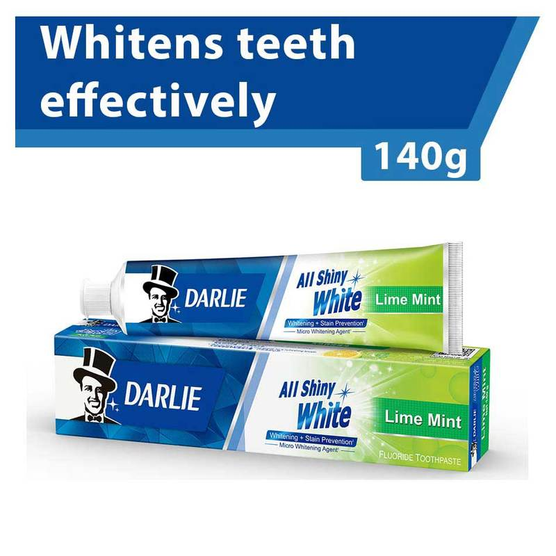 Darlie All Shiny White Lime Mint Whitening Toothpaste 140g