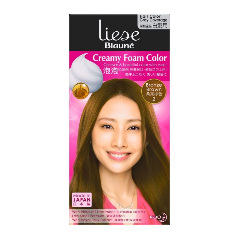 Liese Blaune Foam Color Bronze Brown