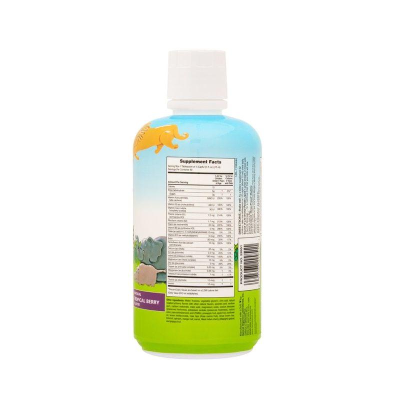 Natures Plus Animal Parade Liquid Multi-Vitamin, 326ml