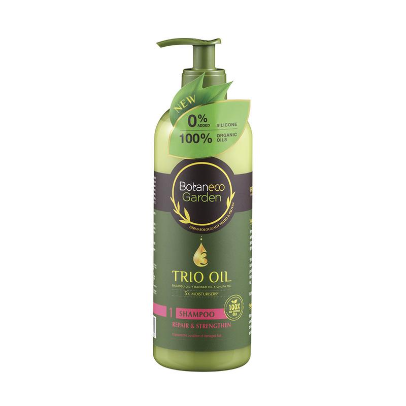 Botaneco Garden Trio Oil Shampoo Repair & Strengthen, 500ml
