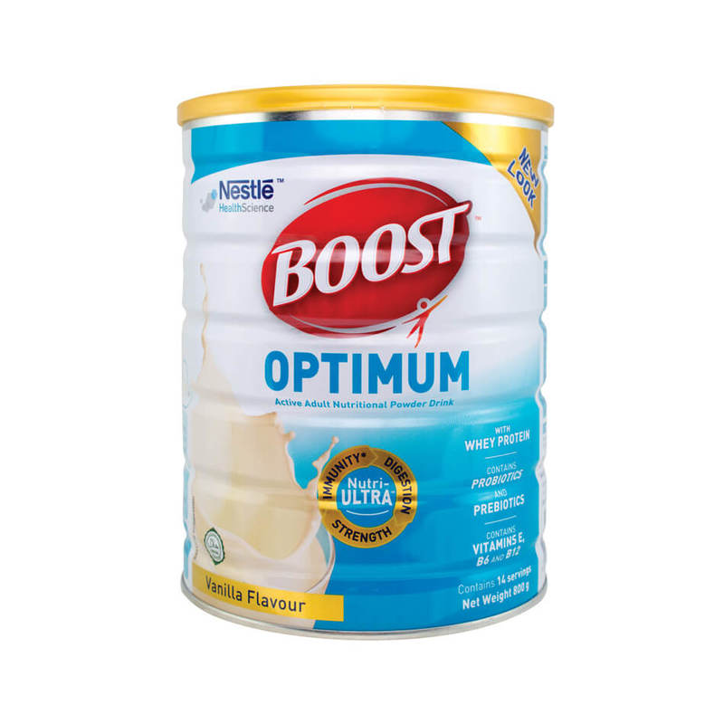 Boost Optimum Active Adult Nutritional Powder Drink, 800g