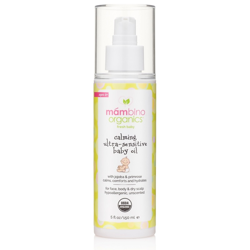 Mambino Organics Calming Ultra-Sensitive Baby Oil 150mL
