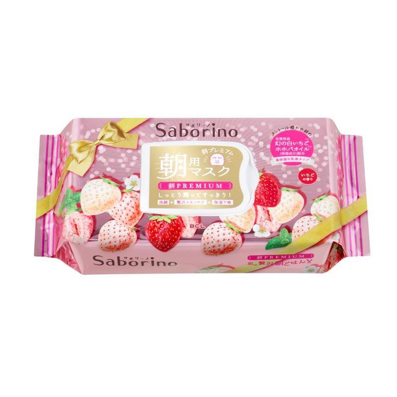 Saborino Morning White Strawberry, 28pcs