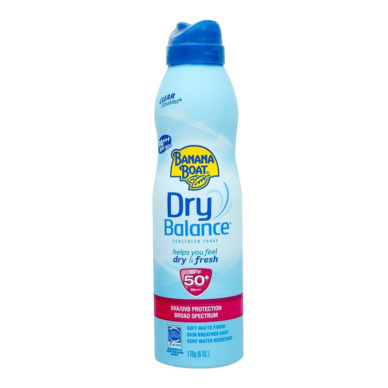 Banana Boat Dry Balance Sunscreen Spray, 170g