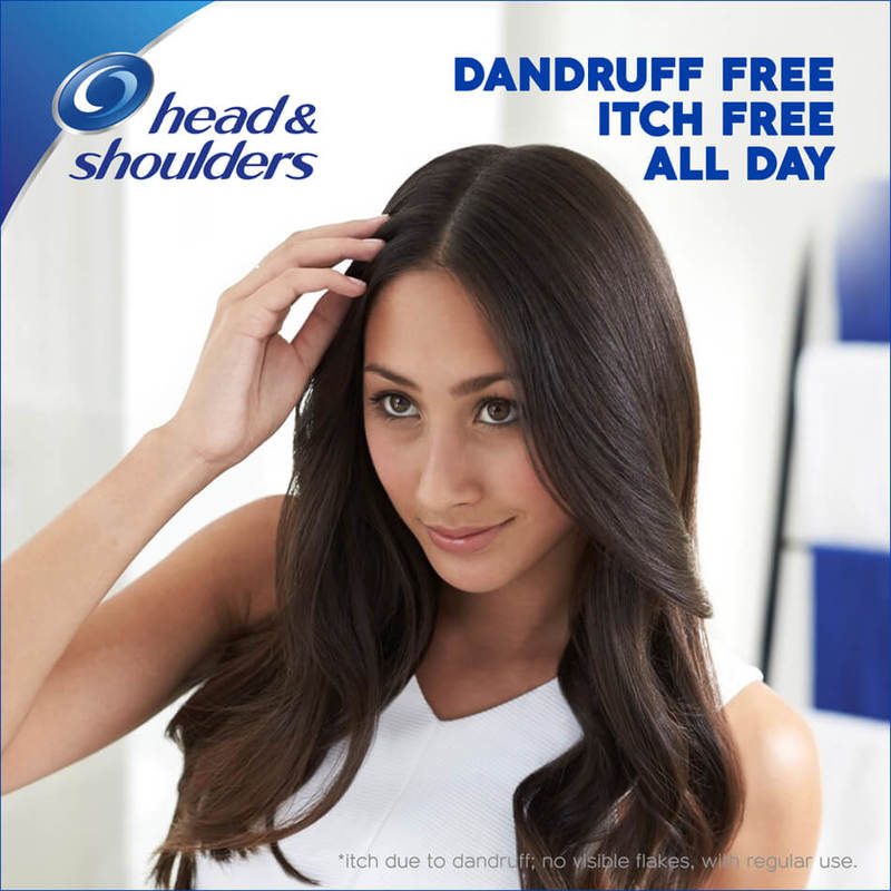 Head & Shoulders Smooth & Silky Anti-Dandruff Shampoo,720ml