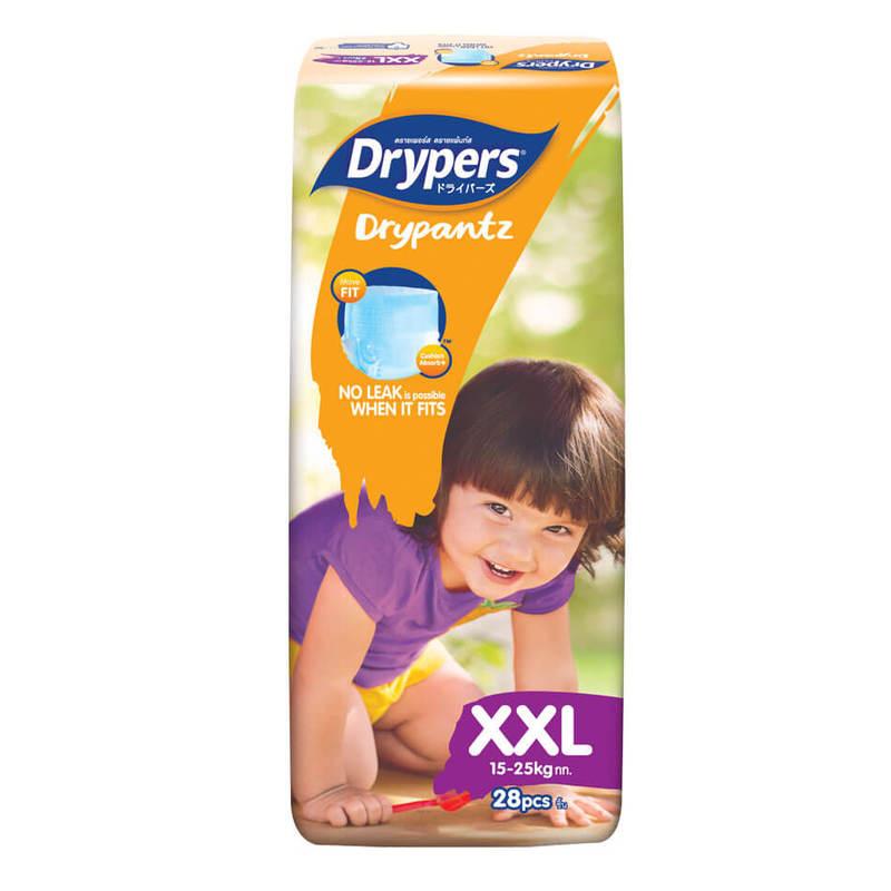 Drypers Drypantz XXL (15kg and above), 28pcs