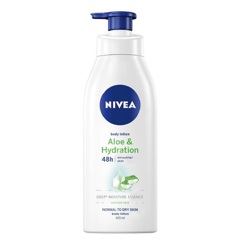 Nivea Aloe & Hydration Body Lotion Bonus Pack 400ml