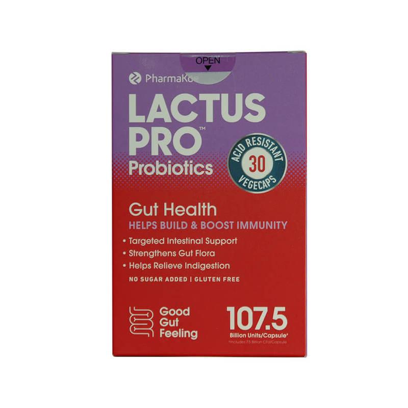 Lactus Pro Probiotics 30 Capsules