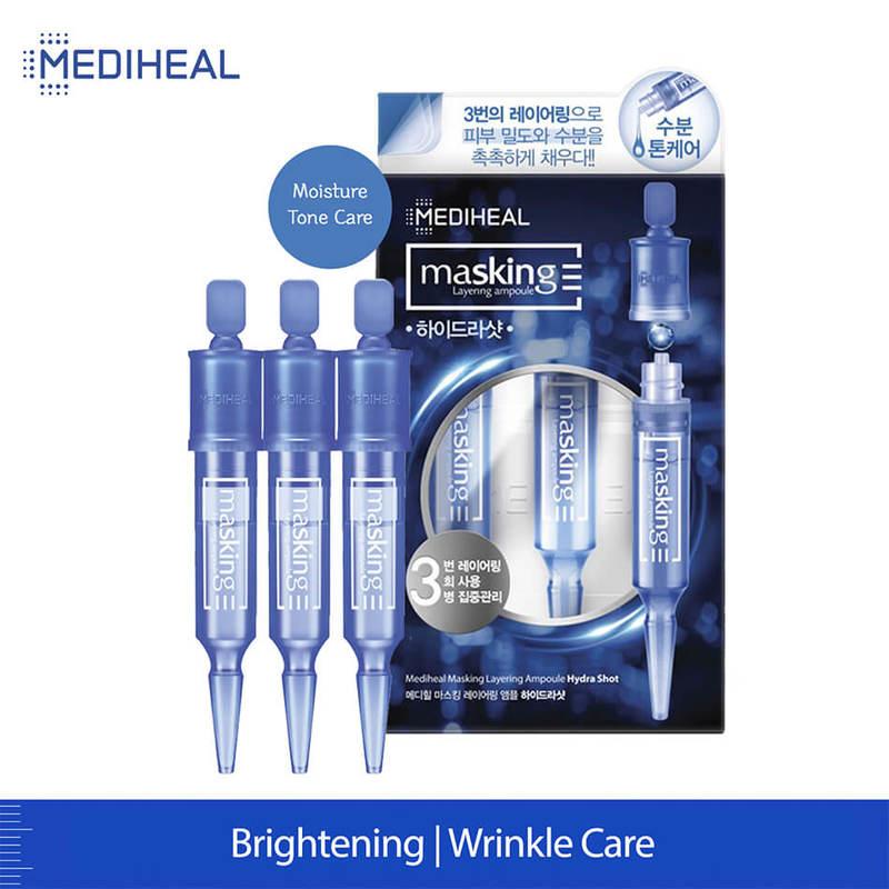 Mediheal Masking Layering Ampoule Hydro Shot