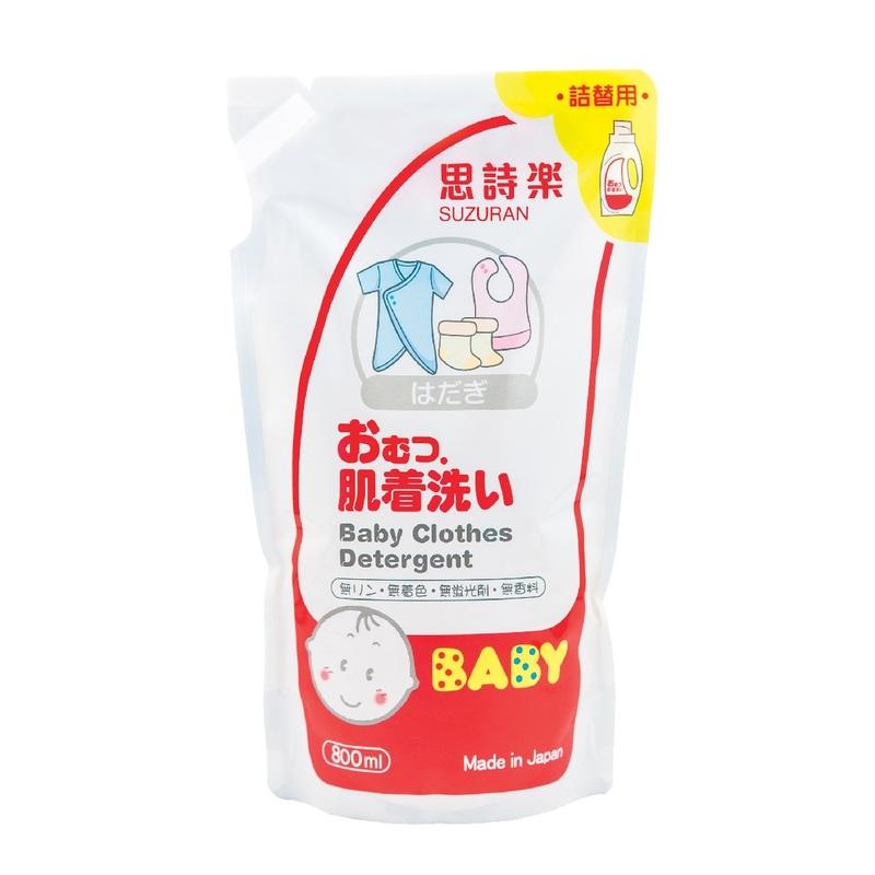 Suzuran Baby Clothes Detergent Refill 800mL