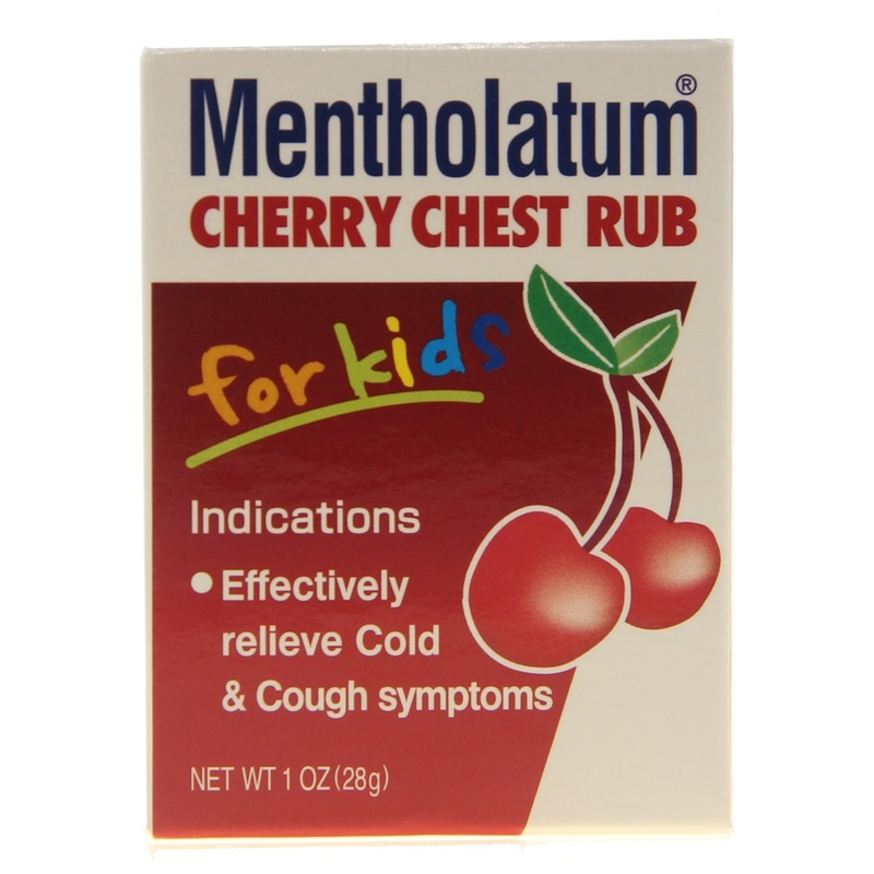 Mentholatum Cherry Chest Rub Kid 28g