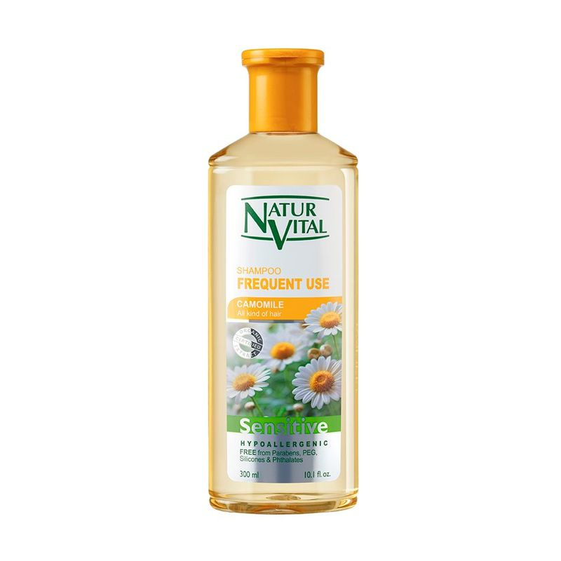 Natur Vital Sensitive Frequent Use Shampoo Camomile, 300ml