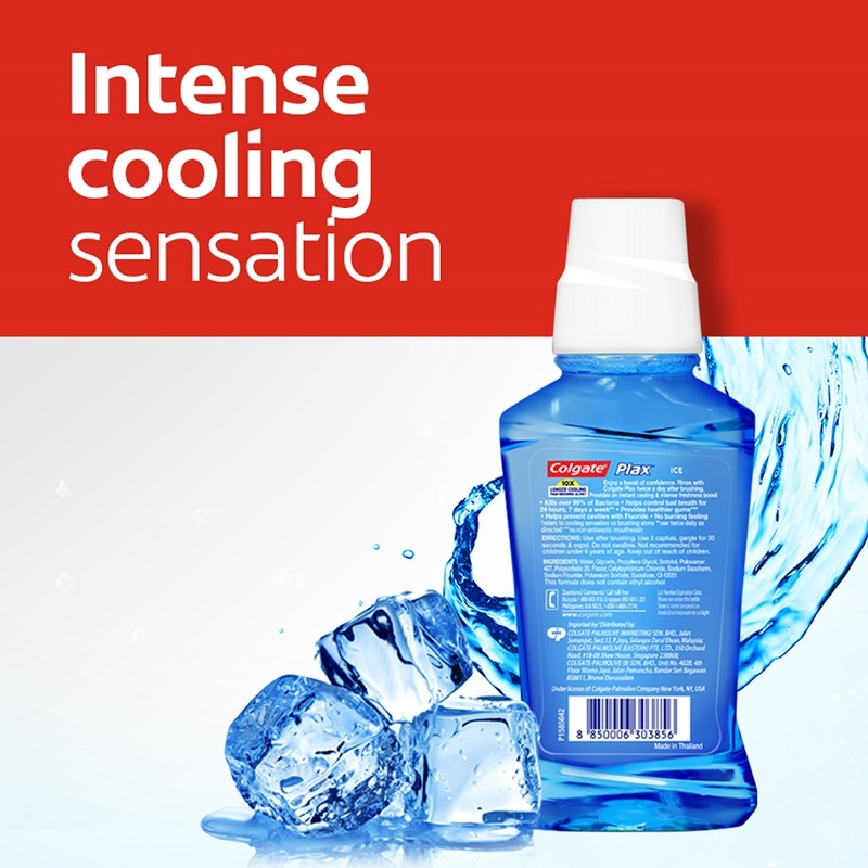 Colgate Mouthwash Plax Ice, 100ml