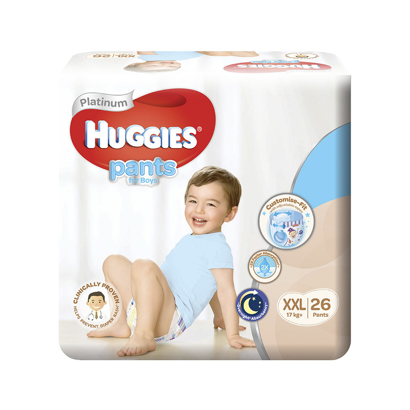 Huggies  Platinum Pants Boy Xtra Xtra Large (XXL) 26s