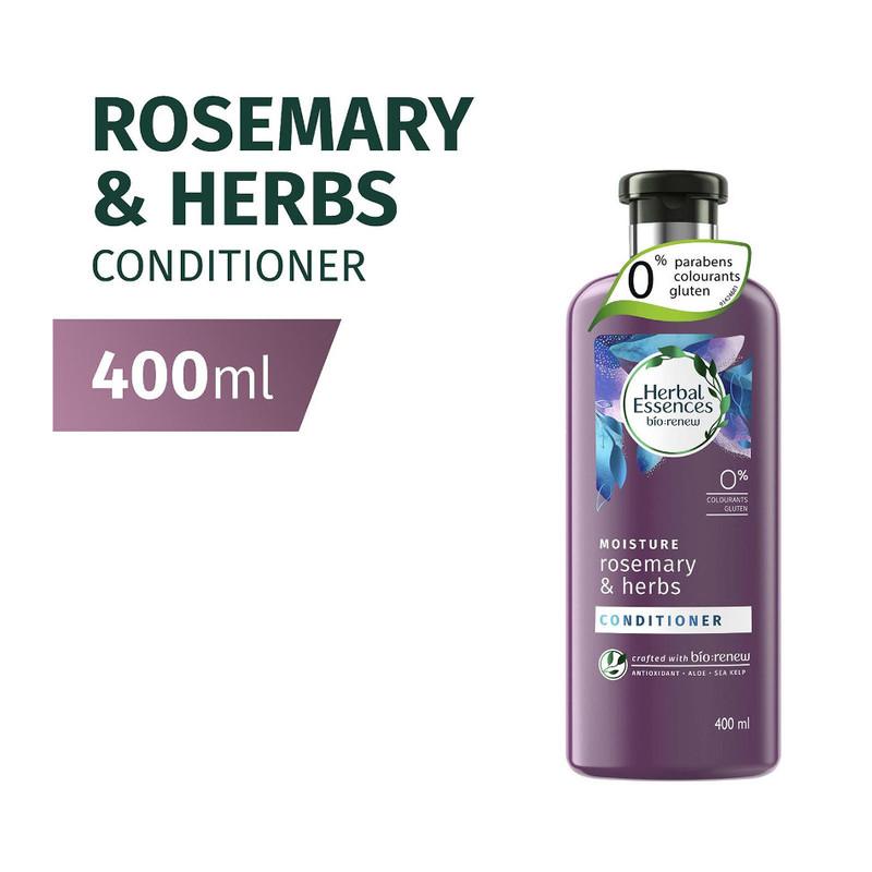 Herbal Essences MOISTURE Rosemary & Herbs Conditioner, 400ml