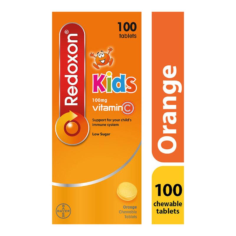 Redoxon Vitamin C Kids 100mg, 100 tablets