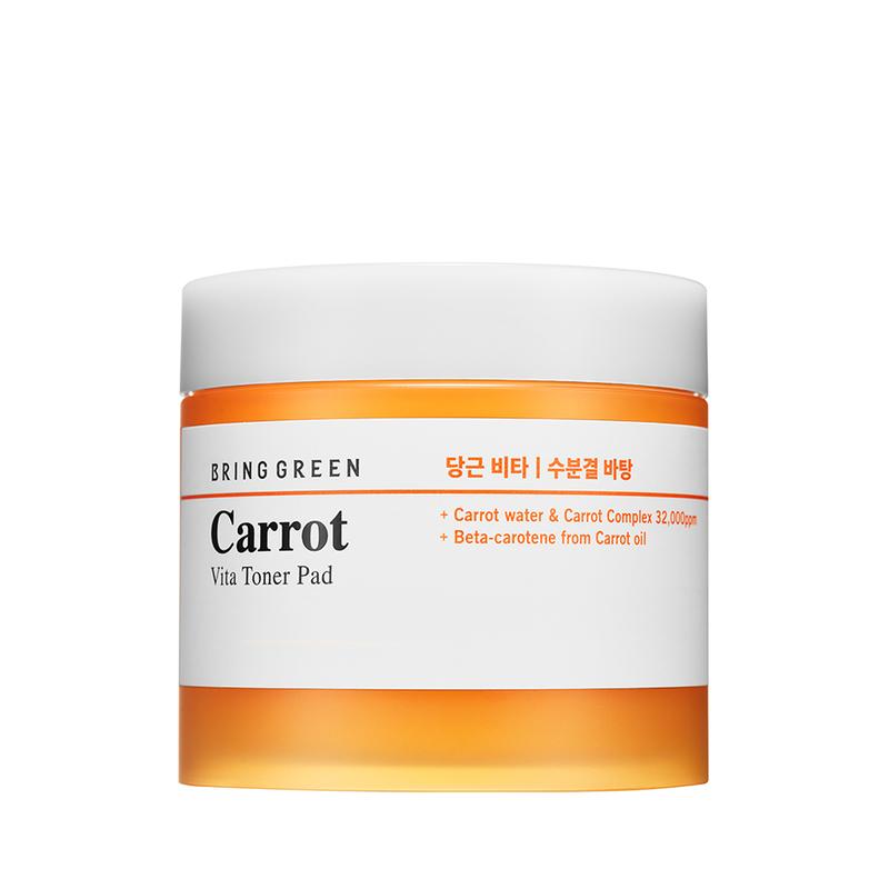 Bring Green Carrot Vita Toner Pad 145g