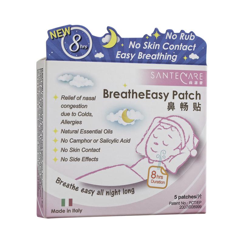 SanteCare BreatheEasy Patch, 5s
