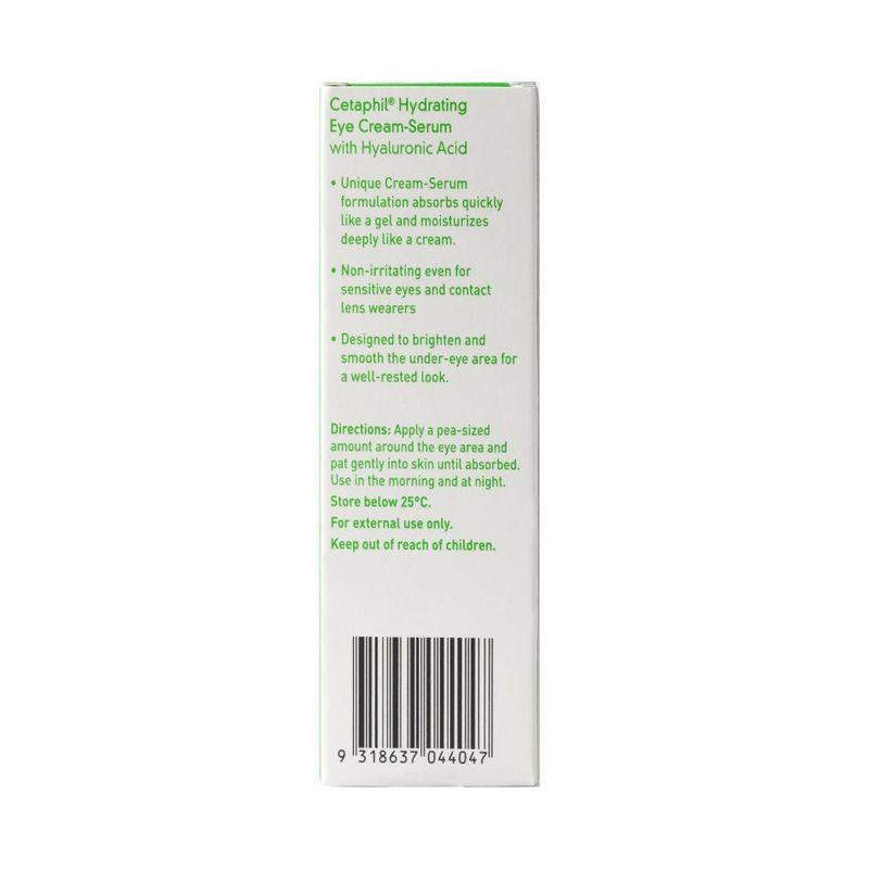 Cetaphil Hydrating Eye Cream Serum, 14ml