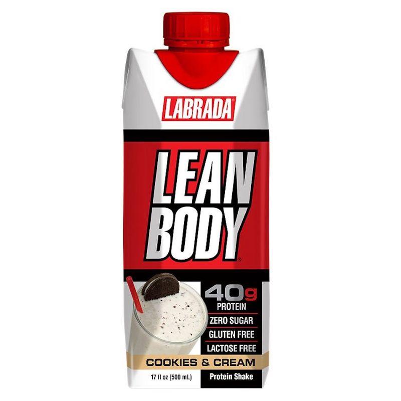 Labrada Lean Body RTD Cookies & Cream 500ml
