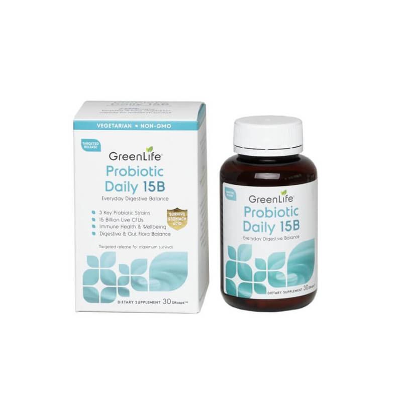 GreenLife Probiotic Daily 15B 30 Caps