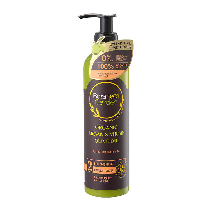 Botaneco Garden Argan and Virgin Olive Oil Conditioner Replenishing, 290ml