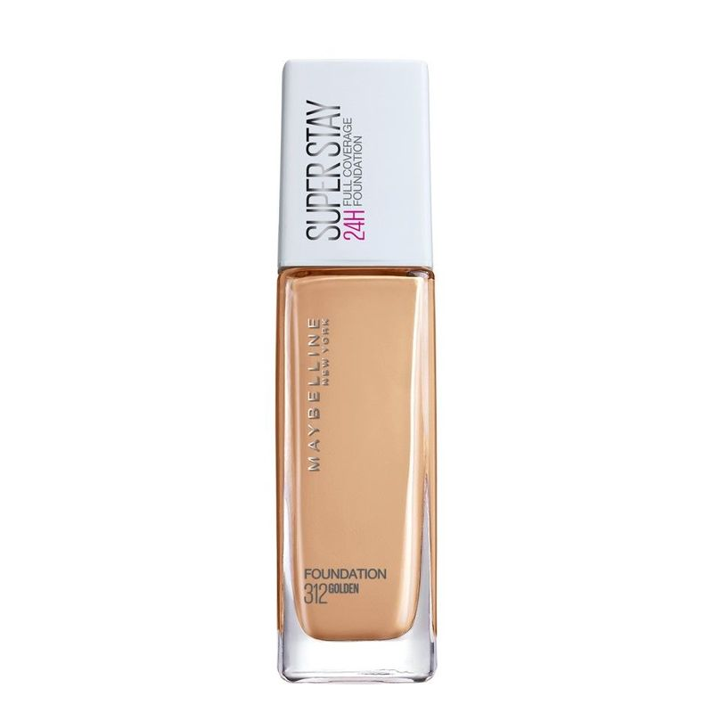 Maybelline Superstay Full Coverage Foundation Golden 312 30ml