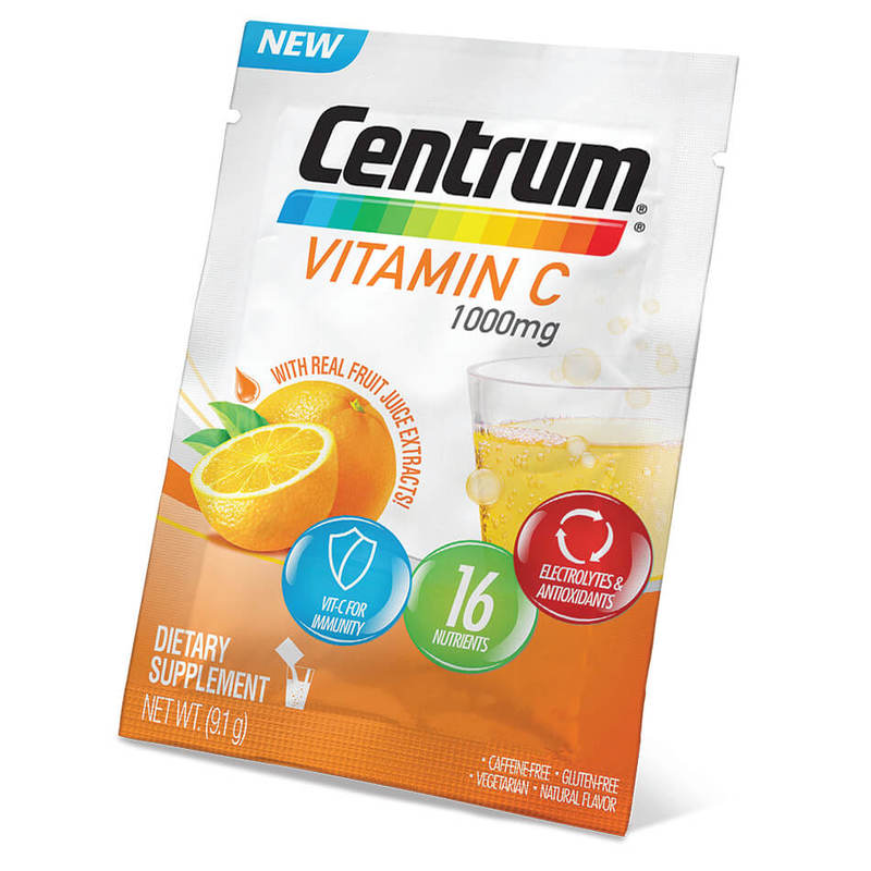 Centrum Vitamin C 1000mg, 30 packets