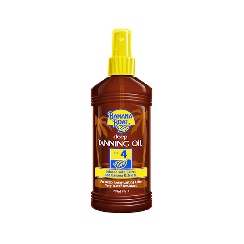 Banana Boat Deep Tanning Oil SPF 4, 236ml