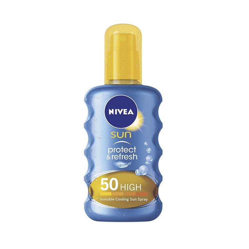 Nivea Sun Protect & Refresh Invisible Cooling Sun Spray SPF 50, 200ml