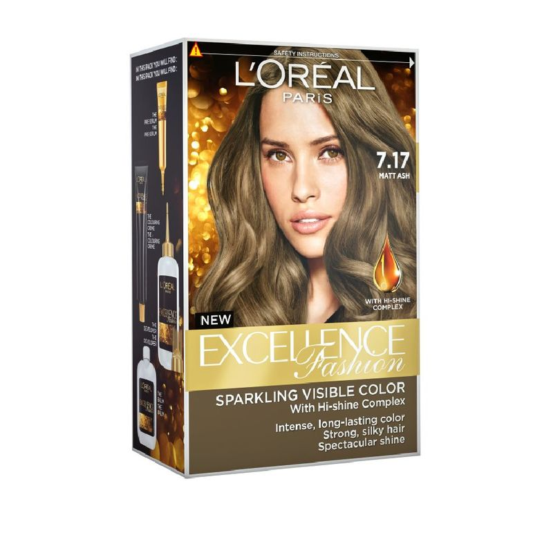 L'Oreal Paris Excellence Fashion 7.17 Matt Ash 1 Unit
