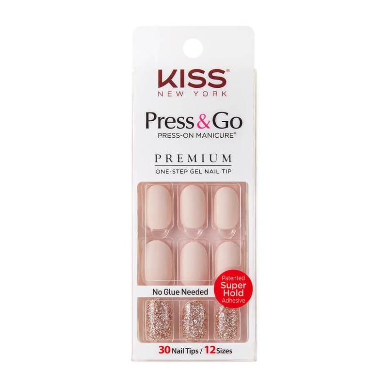 Kiss New York Press & Go Gel Nails PNGO117K