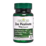 Natures Aid Zinc Picolinate, 30 tablets