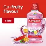 Colgate Fruity Fresh Mouthwash, 1L