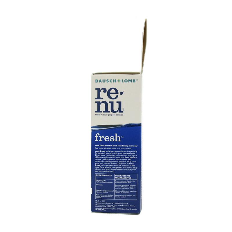 Bausch & Lomb Renu Fresh Travel Pack, 180ml