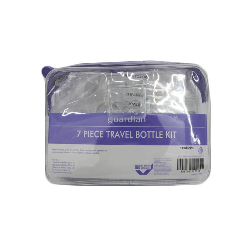 Guardian 7-Piece Travel Bottle Set