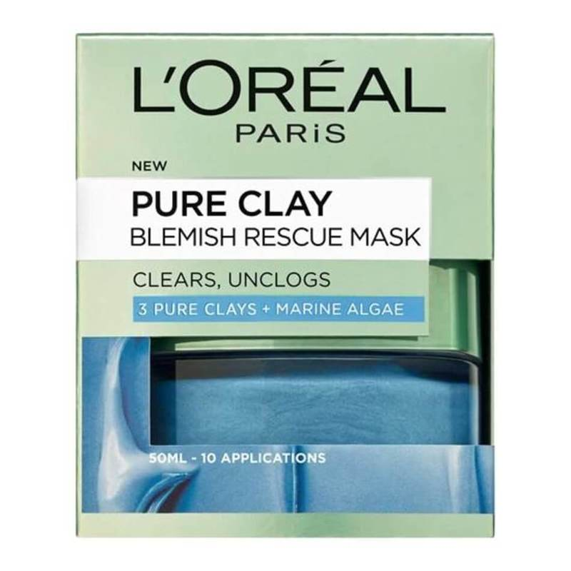 L'Oreal Dermo-Expertise Pure Anti-Acne Clay Mask, 50g