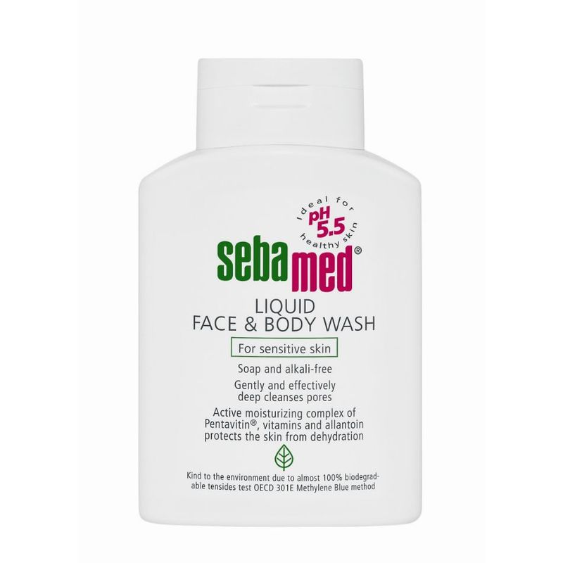 Liquid Face & Body Wash 200ml