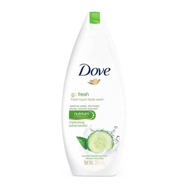 Dove Fresh Touch Cucumber & Green Tea Body Wash, 200ml