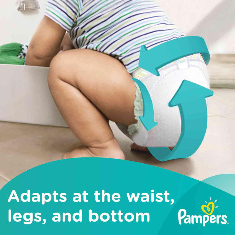 Pampers Baby Dry Diapers Tapes L, 54pcs