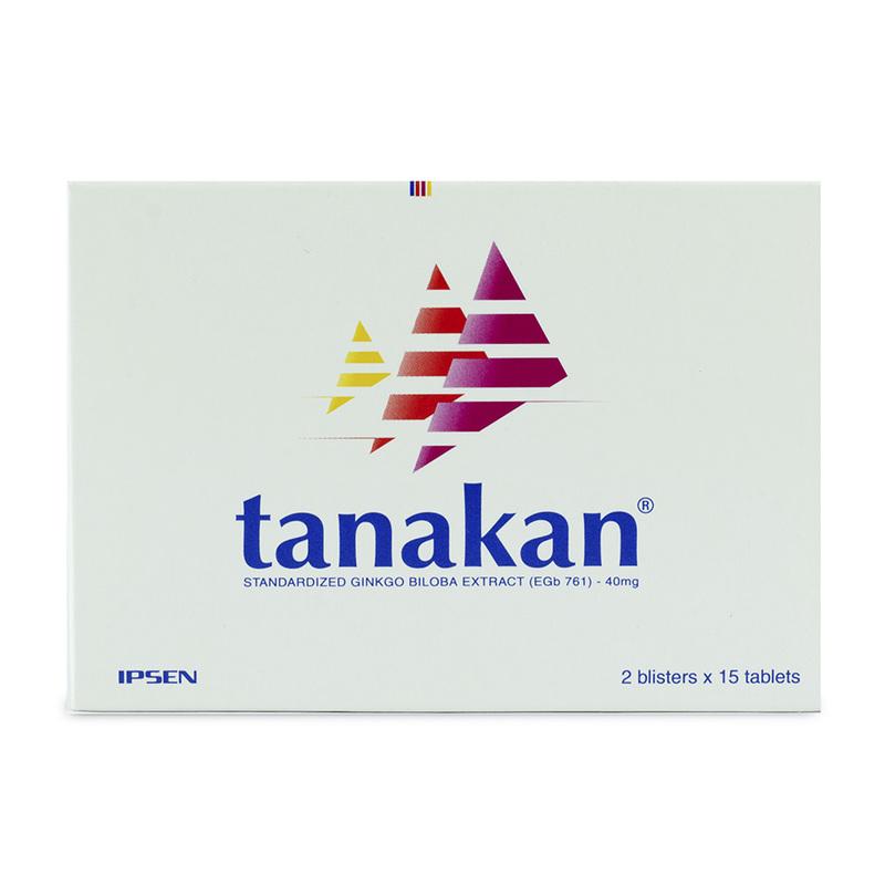 Tanakan 40mg, 30 tablets
