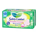 Laurier Safety Comfort Slim Day 22.5cm, 16pcs
